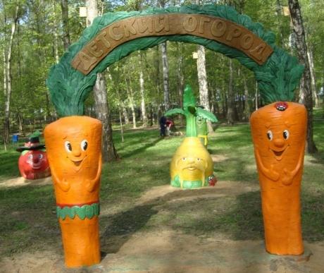 Скульптуры для детской площадки
